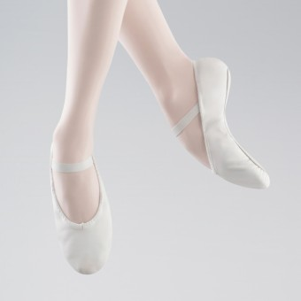 Bloch « Arise » Demi-pointes en Cuir (White)
