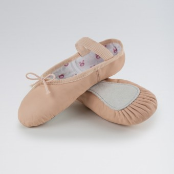 Bloch Bunnyhop Leather Ballet Shoe Pink