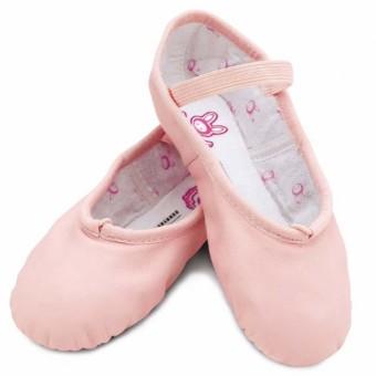 Bloch Bunnyhop Leather Ballet Shoe Pink