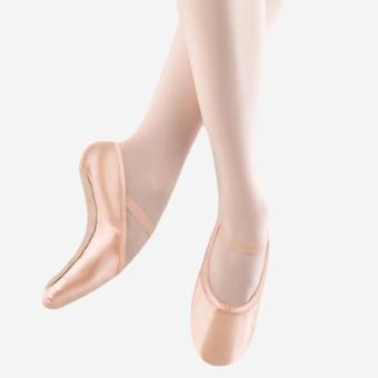 Bloch Stretch Satin Full Sole Ballet Shoe