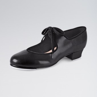 Bloch Timestep Low Heel PU Tap Shoes (Black)