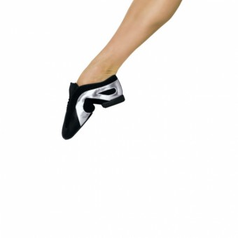 Bloch Slipstream Slip on Jazz Shoes (Black/Silver)