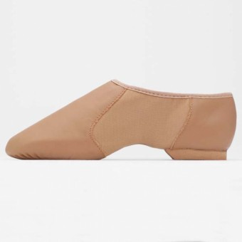 Bloch NEO Flex Slip on Jazz Shoes (Tan)