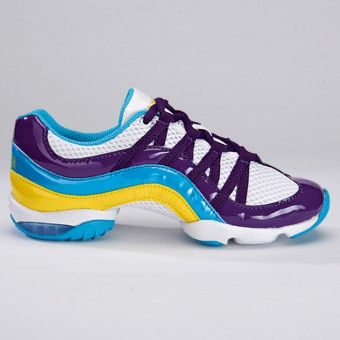 Bloch Wave Sneakers (Purple/Multi)