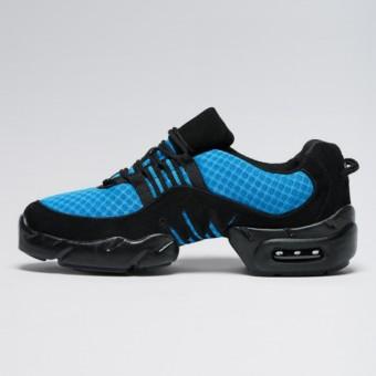 Bloch Boost Sneaker aus Netzstoff (Blue)
