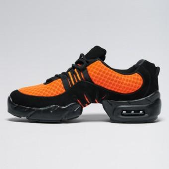 Bloch Boost Sneaker aus Netzstoff (Orange)