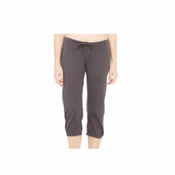 Bella Capri Scrunch Cropped Pants (Grey)