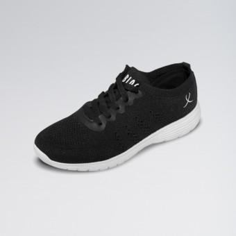Bloch Omnia Knitted Upper Dance Sneaker (Black)