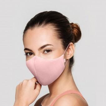 Bloch B-Safe Adult Face Mask Light Pink