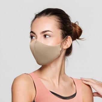 Bloch B-Safe Adult Face Mask 3 Pack Sand
