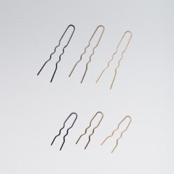 Bloch Hair Pin 2 inch Brown