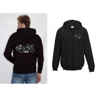 Child Hoodie (Black) with The Rose Arts 'Graffiti' Logo