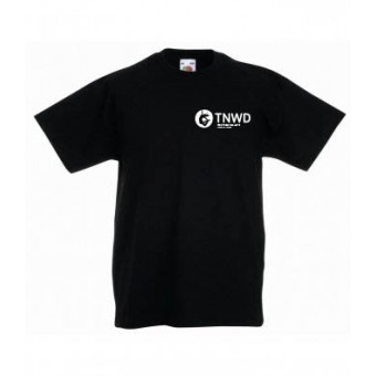 Adult Black T-shirt with TNWD Performing Arts Logo