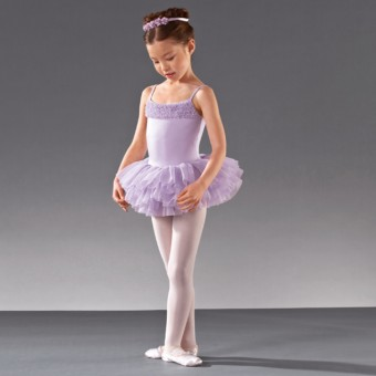 Bloch Desdemona Girls Tutu Leotard (Lilac)