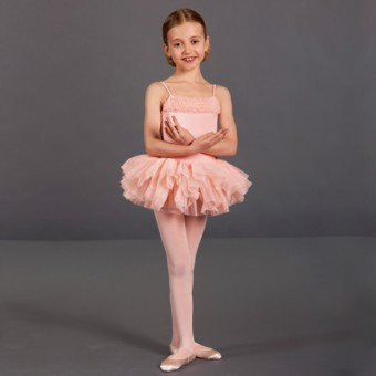 Bloch Desdemona Girls Tutu Leotard (Pink)