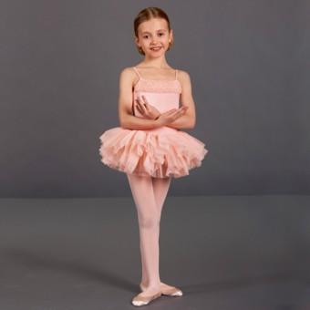 Bloch Desdemona Girls Tutu Leotard (Pink)
