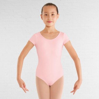 Bloch Childrens Bellflower Leotard (Candy Pink)