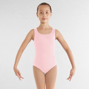 Bloch Childrens Gladiolus Leotard (Candy Pink)