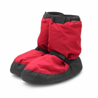 Bloch Warm Up Bootie (Red)
