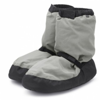 Bloch Warm-Up Booties (Light Grey)