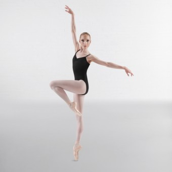 Bloch Royal Pinch Front & Back Leotard (Black)