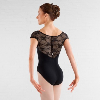 Bloch Chiwa Button Back Lace Leotard