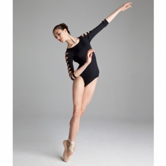 Bloch Macie 3/4 Sleeve Twist Leotard
