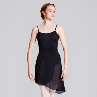 Bloch Maroney Georgette Asymmetrical Skirt Black Size Adult