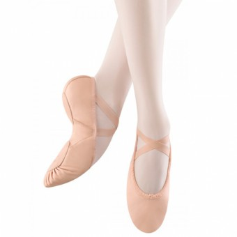 Bloch Leather Ballet Shoes (Ballet Pink)