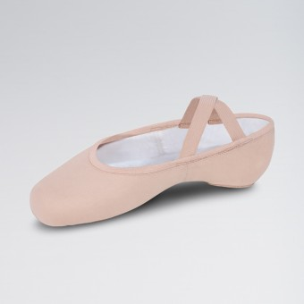 Bloch Performa Stretch Canvas Split Sole Ballet Shoe (Theatrical Pink)