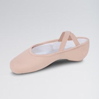 Bloch Performa Ballettschuhe aus dehnbarem Leinen (Theatrical Pink)