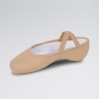 Bloch Performa Ballettschuhe aus dehnbarem Leinen (Sand)