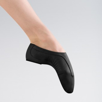 Bloch Pulse Competition Leather Jazz Shoes (Black)