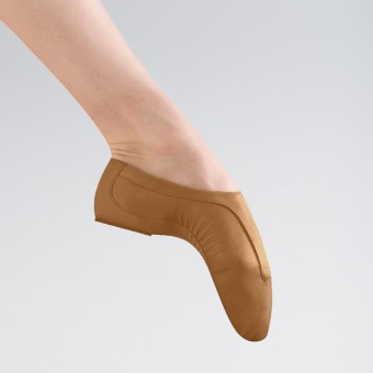 Bloch Pulse Competition Leather Jazz Shoes (Tan)