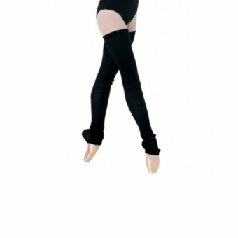 Bloch Francessca Thigh Length Legwarmers - Black