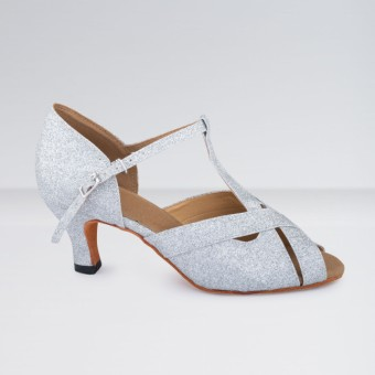 1st Position Synthetic Leather T-Bar Ballroom Shoes