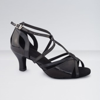 1st Position PU T-Bar Buckle Fastening Ballroom Shoes