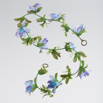 Artificial Flower Garland - Turquoise (1m approx)
