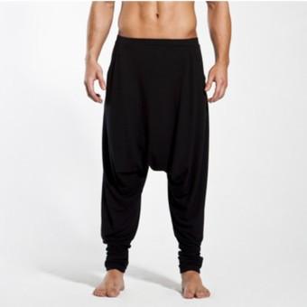 Dincwear Unisex Harem Pants (Black)