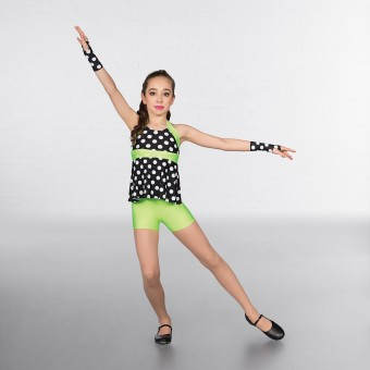 1st Position Halterneck Dotty Two Piece Costume