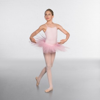 1st Position Nylon Elastane 5 Layer Tutu (Pink)