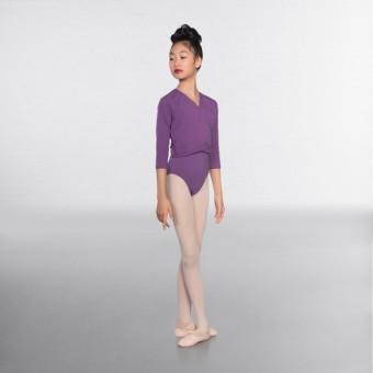 1st Position Cache-cœur à Manches ¾ (Lavender)