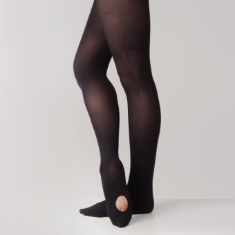 Capezio Ultra Soft Transition Tights (Black)