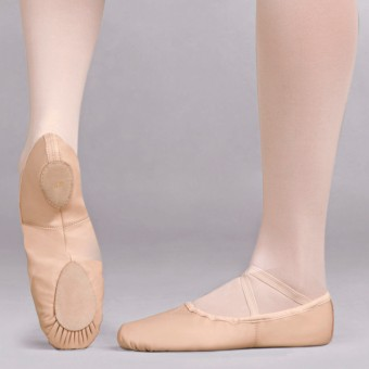 Capezio Leather Cobra Split Sole Ballet Shoe