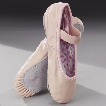 Capezio Daisy Ballet Shoes Leather Pink Narrow