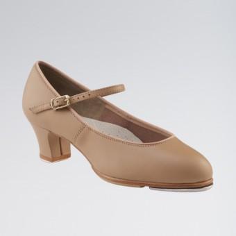 Capezio Tap Junior Footlight™ Shoes (Caramel)