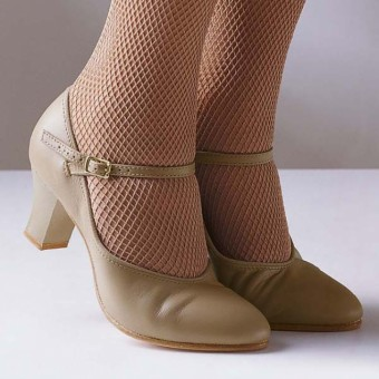 Capezio Student Footlight Shoes (Tan)