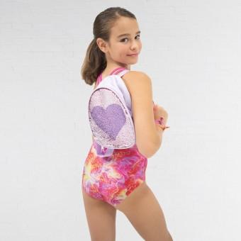 Capezio Reversible Sequin Backpack Lilac