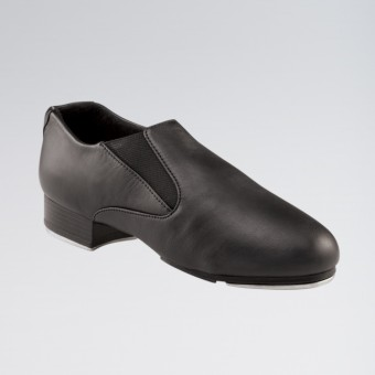 Capezio Riff Slip-On Tap Shoe (Black)