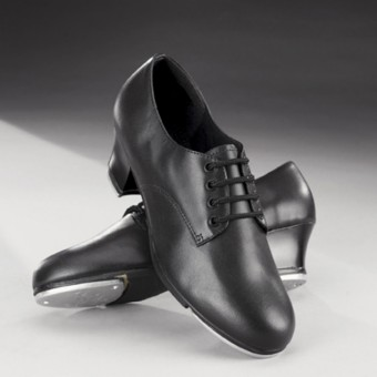 Capezio Cuban Heel Oxford Tap Shoes (Black)